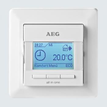 AEG FRTD 903 Elektronischer Komfort-Raum- und Fußbodentemperaturregler all-in-one