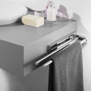 Avenarius Handtuchhalter ausziehbar 570 mm 2-fach