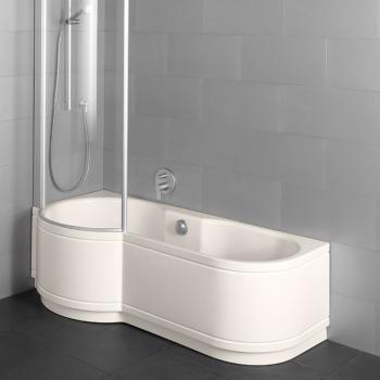 Badewanne mit duschzone 180  Duschbadewanne günstig online kaufen - Emero.de