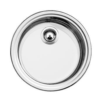 Küchenspülen: Marken-Spülbecken -60% günstiger - Emero.de | {Spülbecken rund edelstahl matt 21}