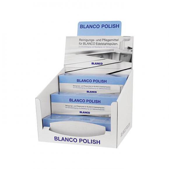 Blanco Polish für Edelstahl, Thekenaufsteller 511894