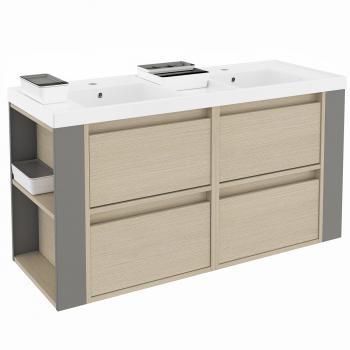 waschbecken mit unterschrank g nstig online. Black Bedroom Furniture Sets. Home Design Ideas