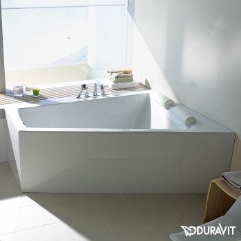 Duravit Paiova Eck-Badewanne mit Verkleidung, Eckeinbau rechts