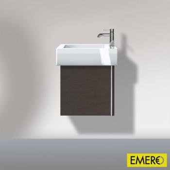 Duravit Vero Handwaschbeckenunterschrank mit 1 Tür eiche dunkel gebürstet
