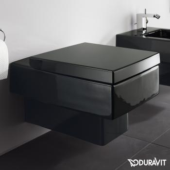 Duravit Vero Wand-Tiefspül-WC schwarz mit WonderGliss