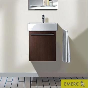 Duravit X-Large Waschtischunterschrank mit 1 Tür Front weiß hochglanz / Korpus weiß hochglanz