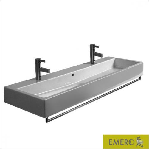 duravit handtuchhalter f r waschtische 120 cm 0030331000. Black Bedroom Furniture Sets. Home Design Ideas