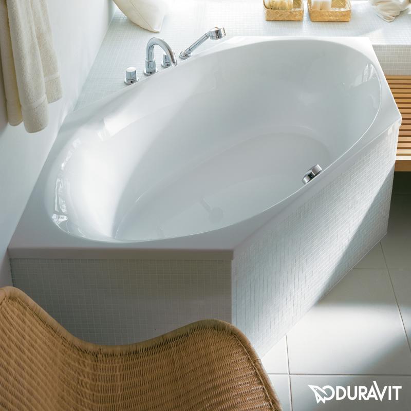 Sechseck badewanne einbauen  Duravit 2x3 Sechseck-Badewanne, Einbauversion - 700023000000000 ...