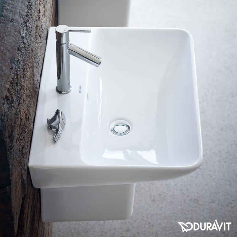 Doppelwaschtisch aufsatzwaschbecken duravit  Duravit ME by Starck Waschtisch weiß, mit WonderGliss, mit 1 ...