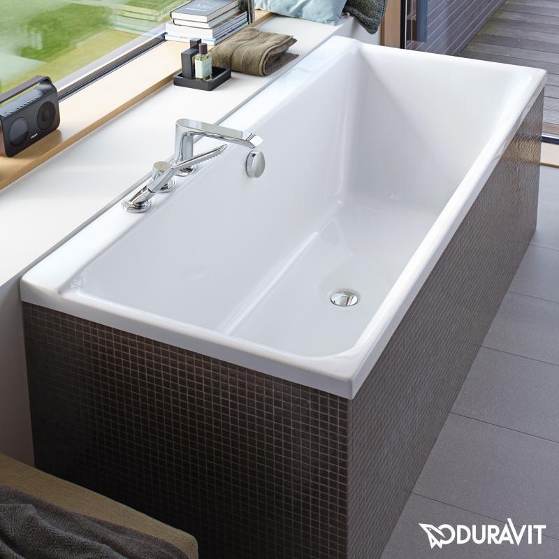 Duravit P3 Comforts Rechteck Badewanne Einbauversion Oder
