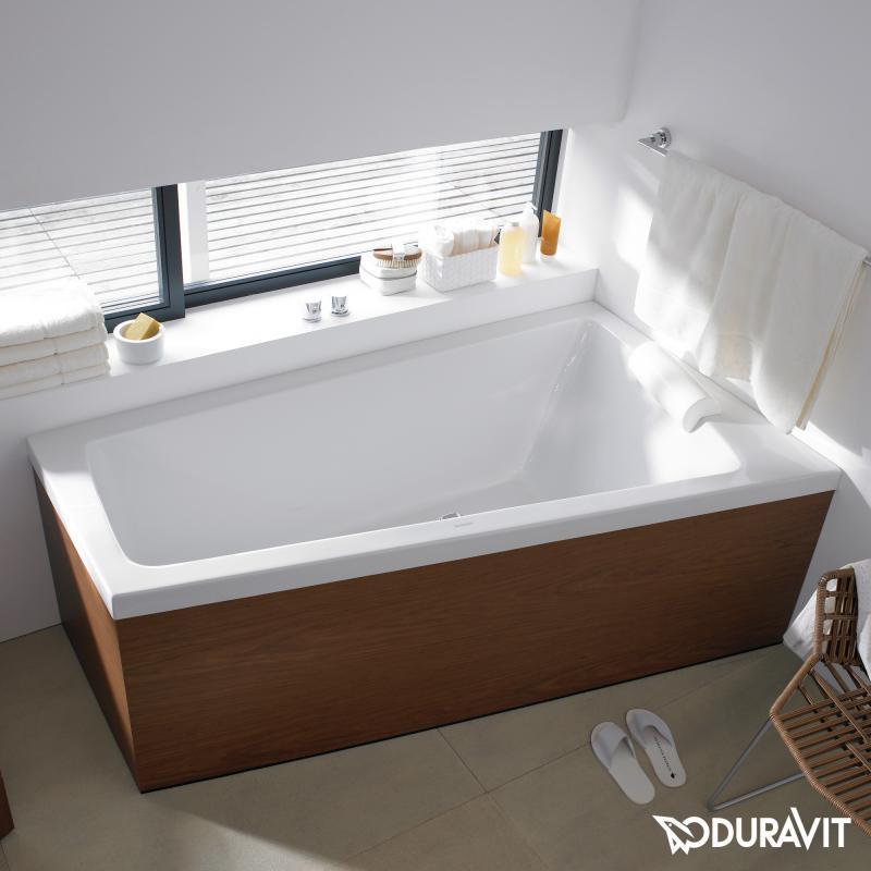 Badewanne 2 personen maße  Duravit Paiova Eck-Badewanne, Einbauversion Eckeinbau rechts ...