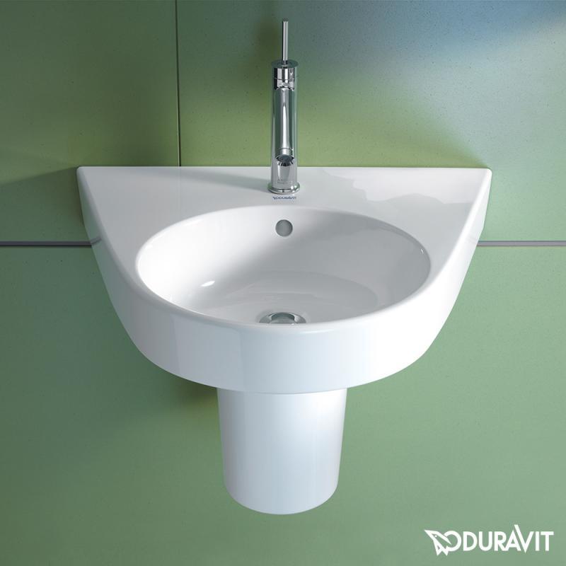Duravit Starck 2 Waschtisch weiß, mit 1 Hahnloch - 2323600000 - Emero.de