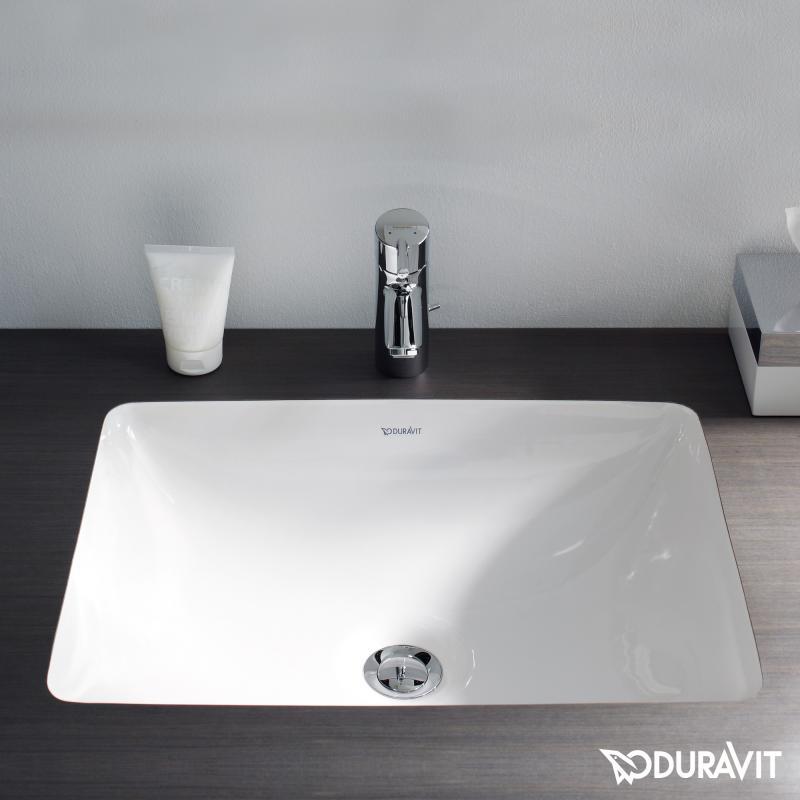 duravit starck 3 unterbauwaschtisch f bonded mit sonderschliff f r duravit m bel wei. Black Bedroom Furniture Sets. Home Design Ideas
