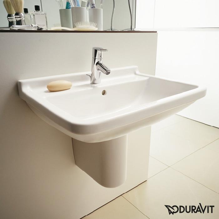 Duravit Starck 3 Waschtisch Weiß Mit 1 Hahnloch 0300600000 Emerode