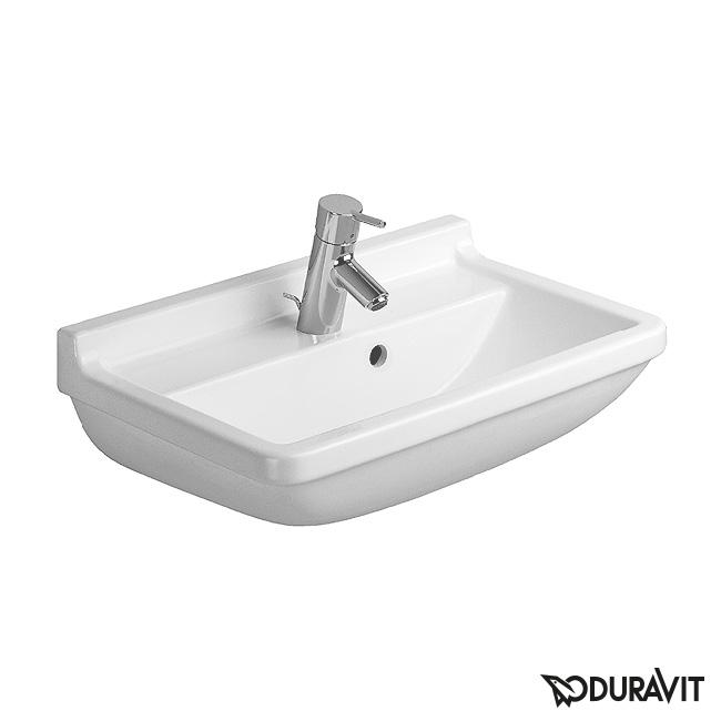 Duravit Starck 3 Waschtisch Compact Weiß Mit Wondergliss Mit 1