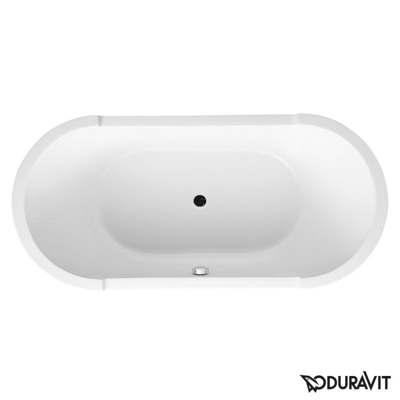 duravit starck freistehende oval badewanne mit verkleidung 700012000000000. Black Bedroom Furniture Sets. Home Design Ideas