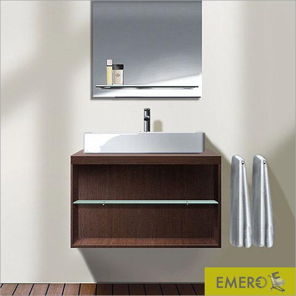 duravit x large waschtischunterschrank f r konsole mit 1 offenen fach front wei hochglanz. Black Bedroom Furniture Sets. Home Design Ideas