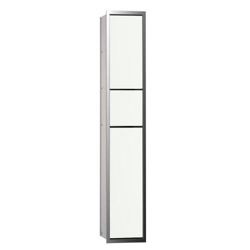 Emco Asis Unterputz-Gäste-WC-Modul optiwhite/chrom