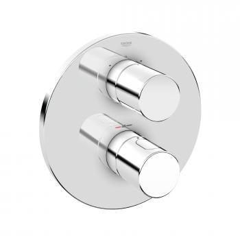 Grohe Grohtherm 3000 Cosmopolitan Thermostat-Wannenbatterie Fertigset chrom