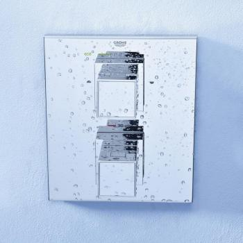Grohe Grohtherm Cube Thermostat-Wannen-Brausebatterie