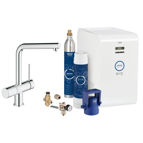 Grohe Blue Professional Minta Starter Kit chrom