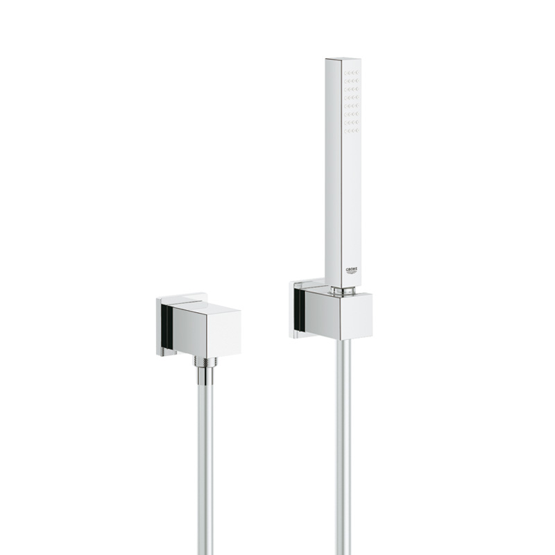 grohe grohtherm cube duschsystem unterputz mit rainshower allure 230 34506000. Black Bedroom Furniture Sets. Home Design Ideas