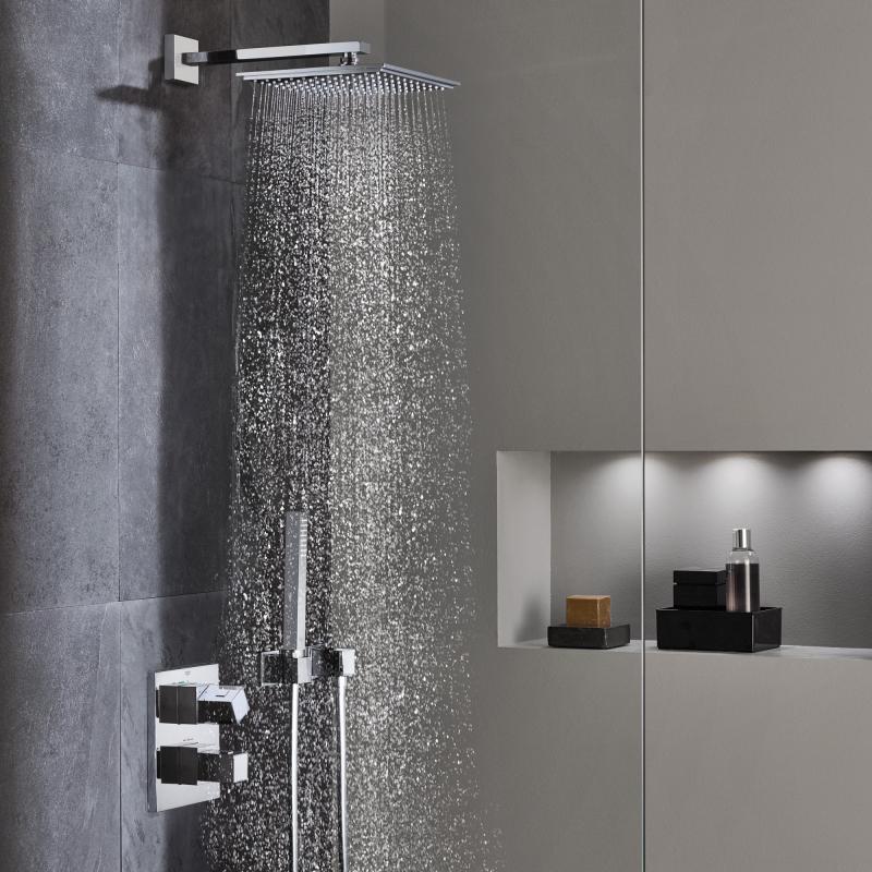 grohe duscharmatur set jh19 hitoiro. Black Bedroom Furniture Sets. Home Design Ideas