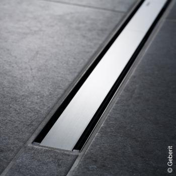 Geberit CleanLine 60 Duschrinne edelstahl dunkel / edelstahl gebürstet, für Duschrinne: 30 - 90 cm