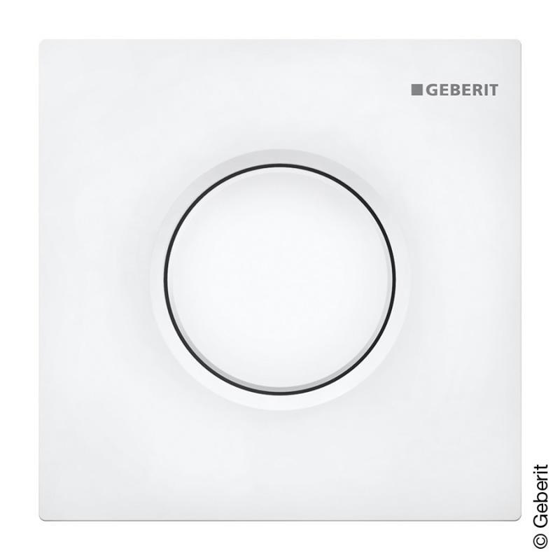 Geberit Sigma01 Urinal Handauslosung Pneumatisch Weiss 116011115