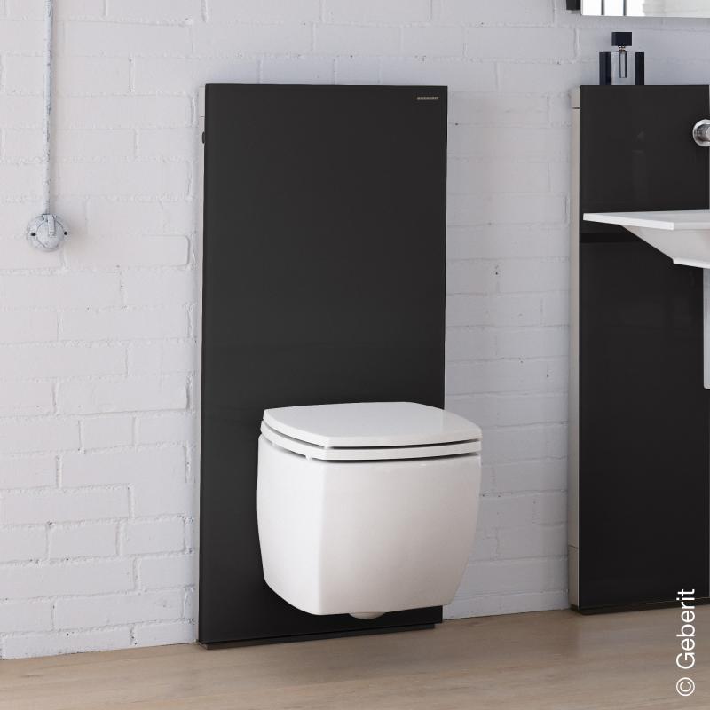 geberit monolith sanit rmodul f r wand wc h 114 cm glas. Black Bedroom Furniture Sets. Home Design Ideas