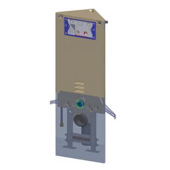 Grumbach Eck-WC-Stein H: 108 cm für Betätigungsplatten Sigma & Mambo