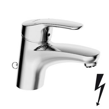 Hansa Mix Waschtisch-Einhand-Einlochbatterie, für offene Heißwasserbereiter ohne Ablaufgarnitur