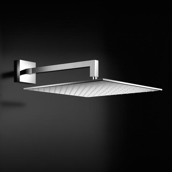 herzbach living spa regenbrause b 300 t 300 mm quadratisch slim design. Black Bedroom Furniture Sets. Home Design Ideas