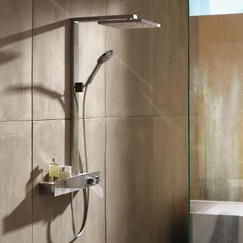 Hansgrohe Raindance E 300 1jet Showerpipe 600 ST, EcoSmart