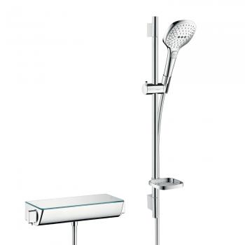 Hansgrohe Raindance Select E 120 Unica Combi 650 mm, DN 15 weiß/chrom