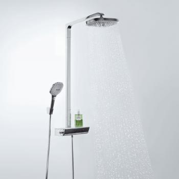 Hansgrohe Raindance Select E 300 2jet Showerpipe chrom
