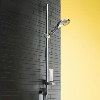 Hansgrohe Raindance Select S 150 3jet Handbrause/ Unica 'S Puro Brausestange 900 mm Set chrom