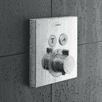 Hansgrohe ShowerSelect Thermostat Unterputz für 2 Verbraucher
