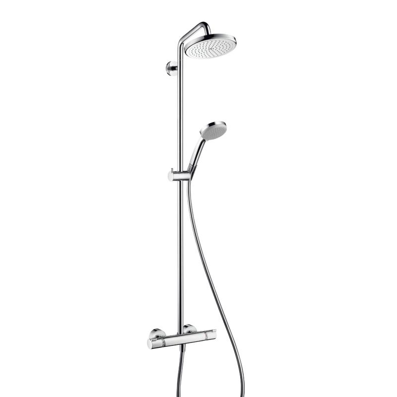 Hansgrohe Croma 220 Air 1jet Showerpipe 27185000 Emero De