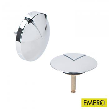 Hoesch COMBI Ab- und Überlaufgarnitur, Komplett-Set chrom
