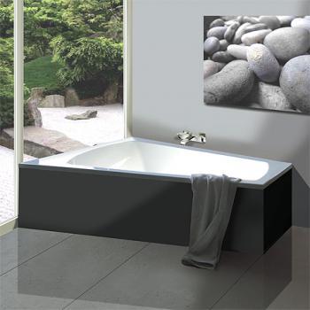 Hoesch LARGO Trapez Badewanne, linke Ausführung