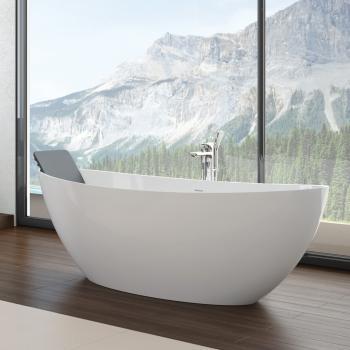 Hoesch NAMUR Freistehende Badewanne Weiß