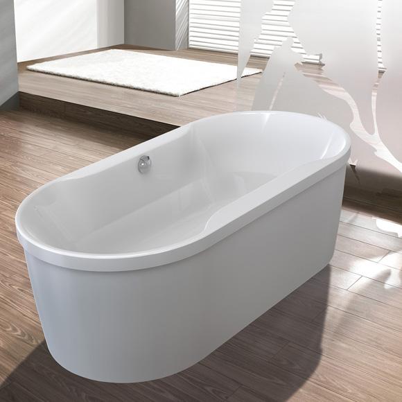 Freistehende Badewanne günstig kaufen - Emero.de | {Freistehende badewanne oval 38}
