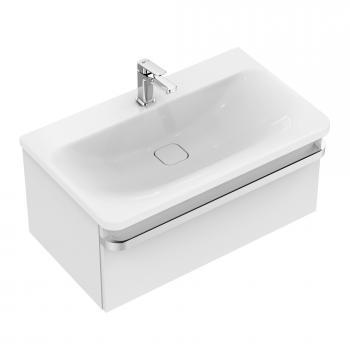 Ideal Standard Tonic II Waschtisch-Unterschrank Front weiß hochglanz/ Korpus weiß hochglanz