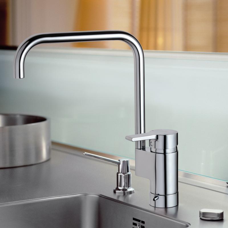 Ideal Standard Active Einhebel-Küchenarmatur mit Geräteabsperrventil ...