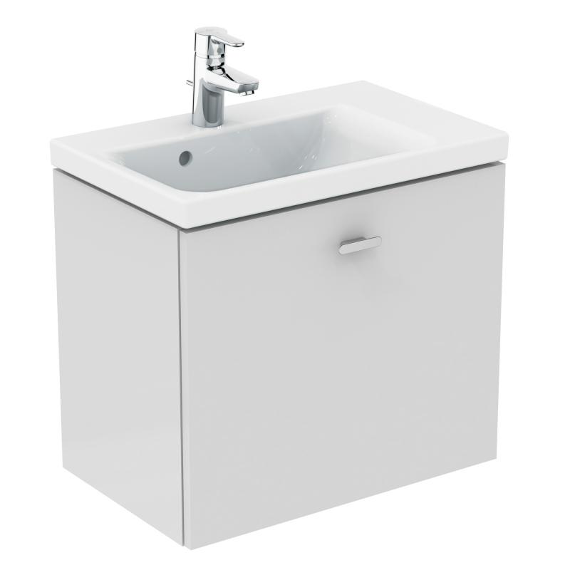 ideal standard connect space waschtischunterschrank mit 1 auszug front wei hochglanz korpus. Black Bedroom Furniture Sets. Home Design Ideas