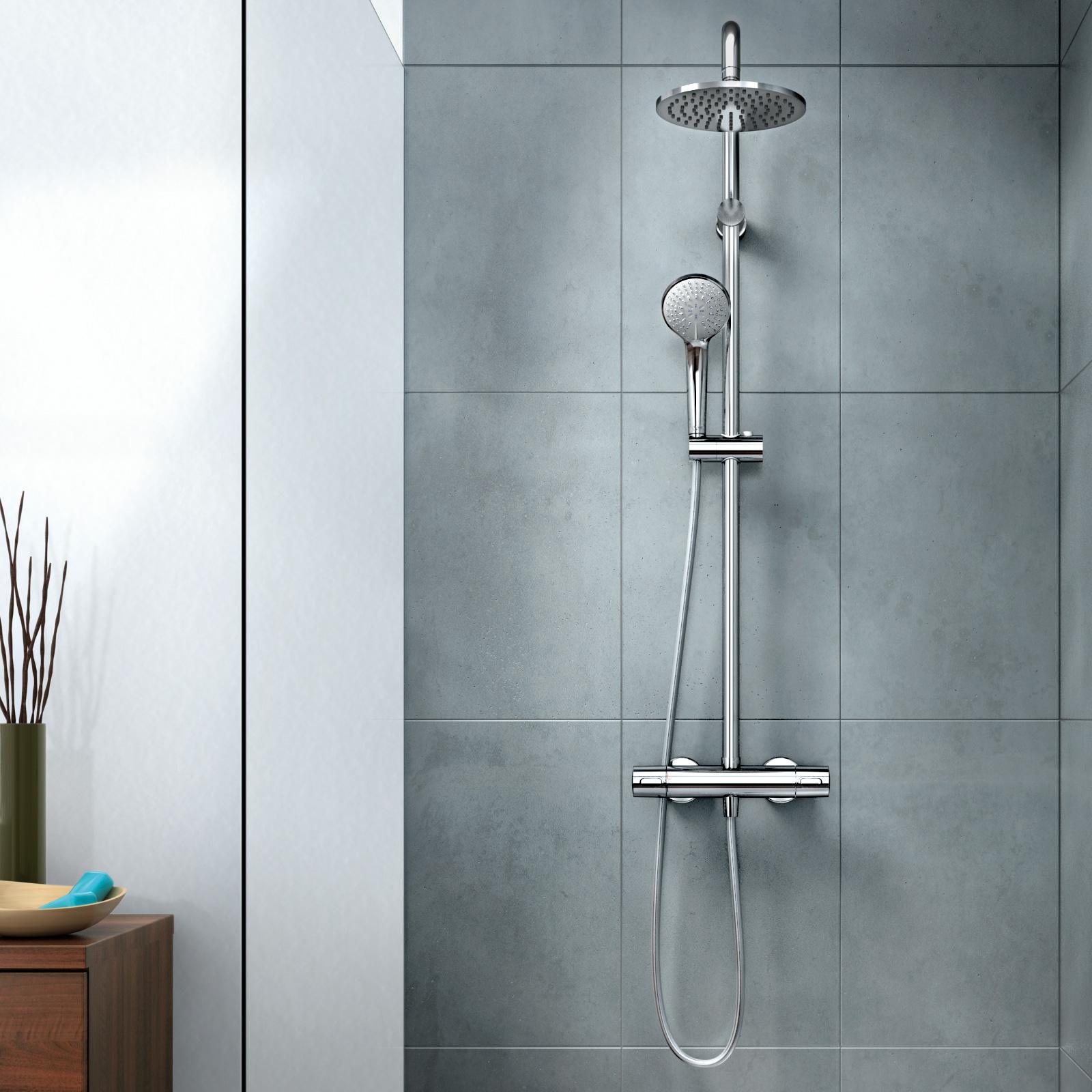 Ideal standard idealrain duschsystem mit ceratherm 100