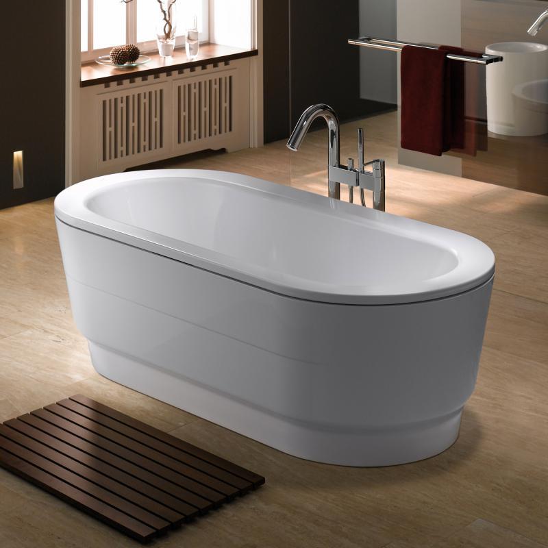 kaldewei classic duo oval wide freistehende badewanne wei perl effekt 291648053001. Black Bedroom Furniture Sets. Home Design Ideas