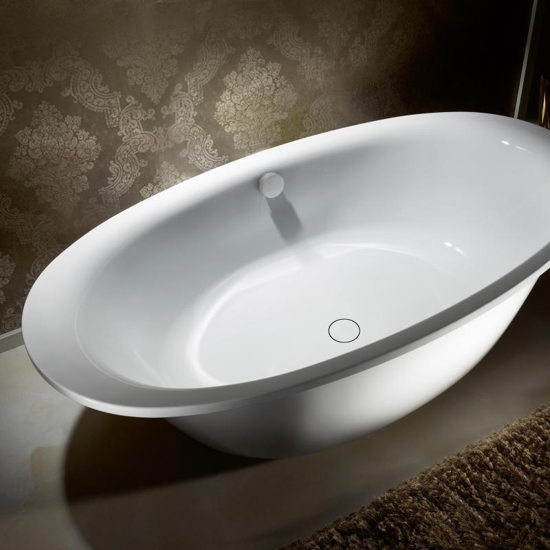 kaldewei ellipso duo oval badewanne m verkleidung wei 286248050001. Black Bedroom Furniture Sets. Home Design Ideas