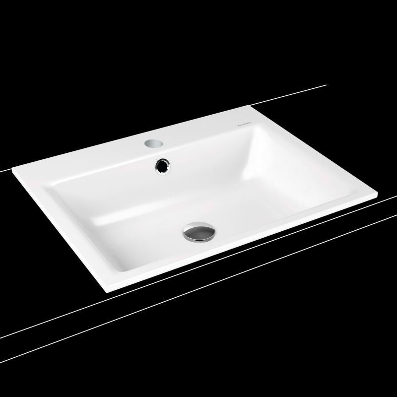 kaldewei puro einbauwaschtisch mit 1 hahnloch 900106013001. Black Bedroom Furniture Sets. Home Design Ideas